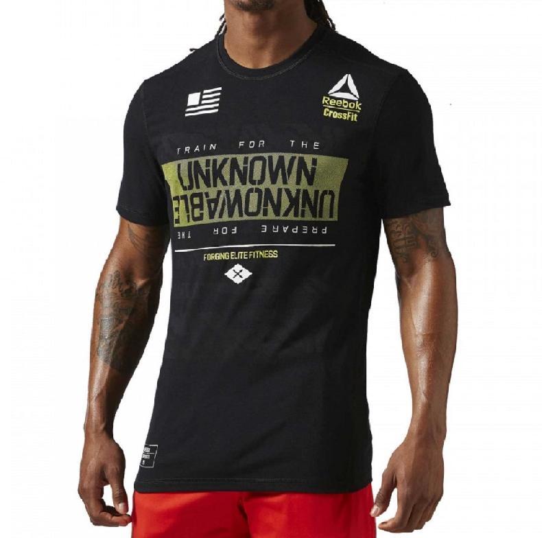 Reebok t shirt reebok crossfit rcf burnout tee for Reebok crossfit t shirts